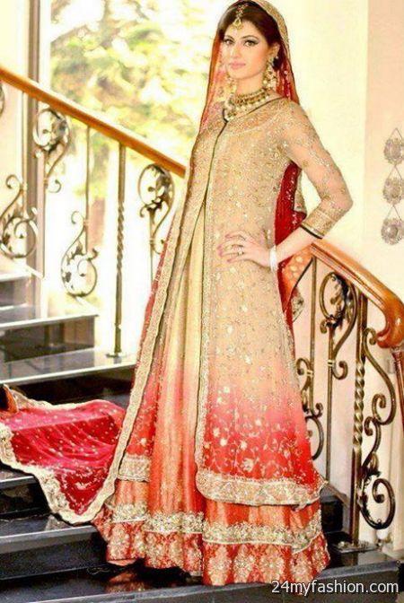 Latest Bridal Dresses In Pakistan 2018-2019