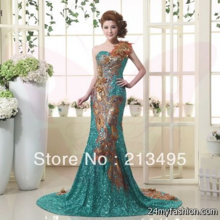 Latest gowns designs 2018-2019