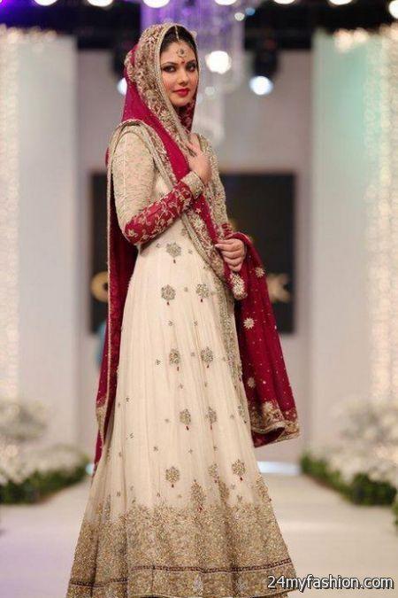 1220f7cb37f Latest pakistani bridal dresses 2018-2019