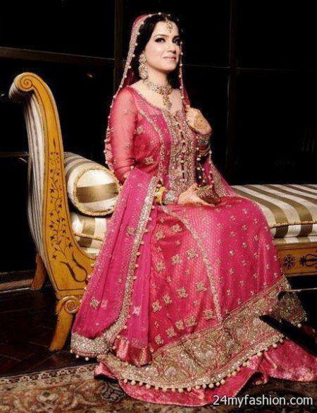Latest pakistani bridal dresses 2018-2019