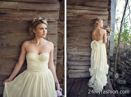 Linen bridesmaid dresses 2018-2019