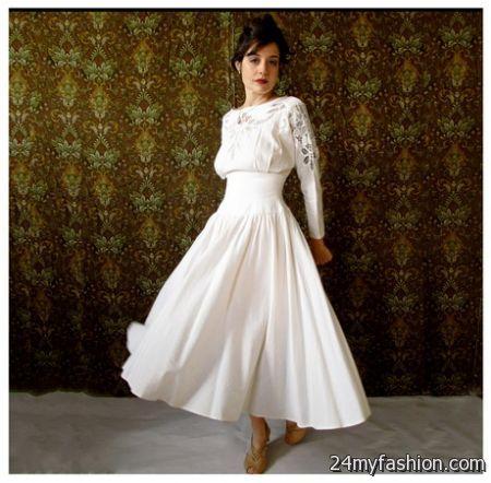 Linen wedding dresses 2018-2019