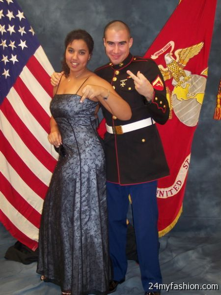 Marine corp ball gowns 2018-2019