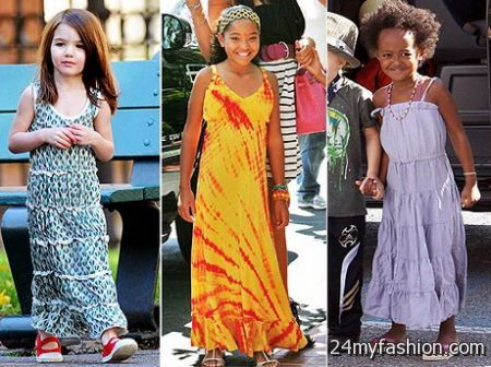 Maxi dresses for short people 2018-2019