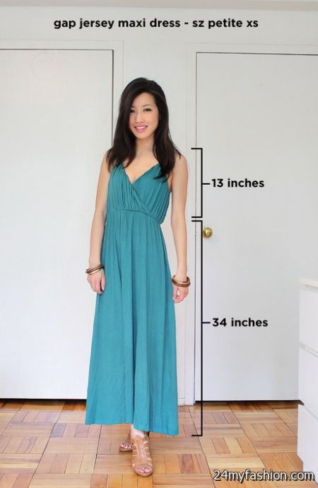 Maxi dresses for tall girls 2018-2019