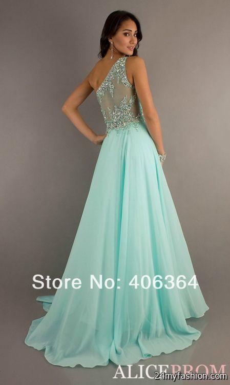 Cheap Mint Green Prom Dresses