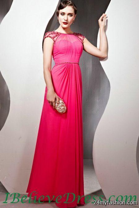 Modest evening dresses 2018-2019