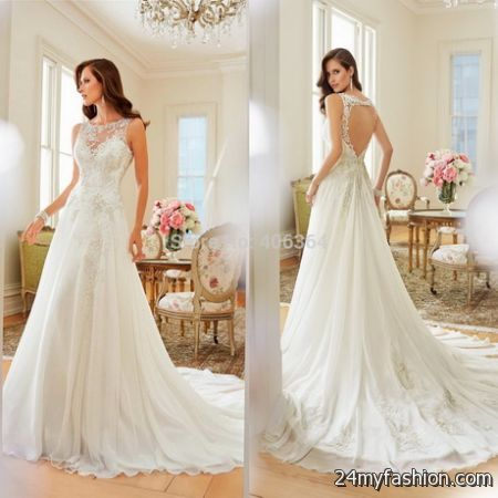 New wedding dress 2018-2019
