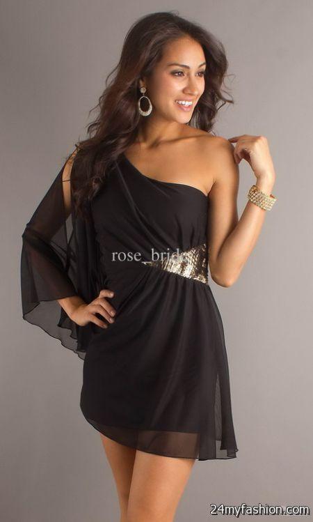 Party black dresses 2018-2019