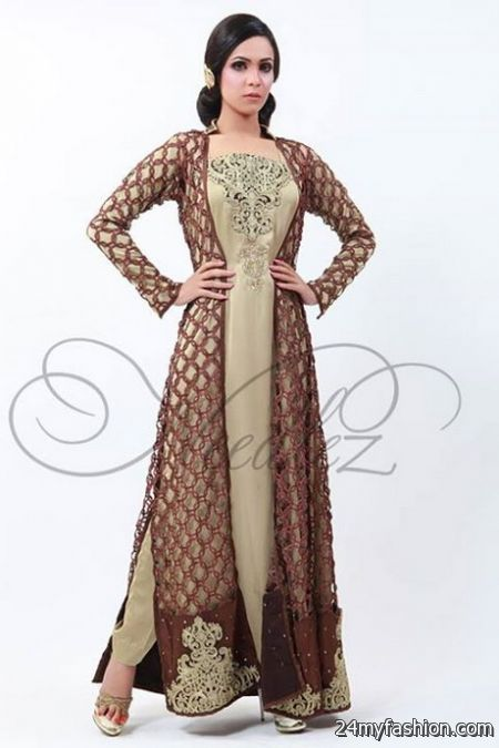 Dresses for Women in Gown Pakistan2018