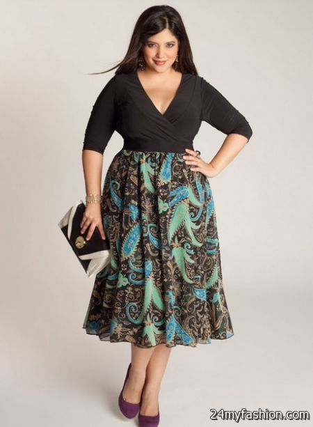 Plus size dresses clothes 2018-2019