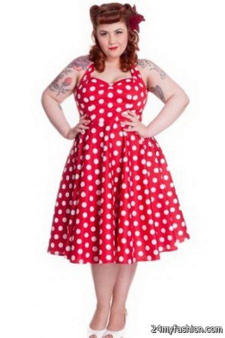 Plus Size Rockabilly Dresses 2018 2019 B2b Fashion