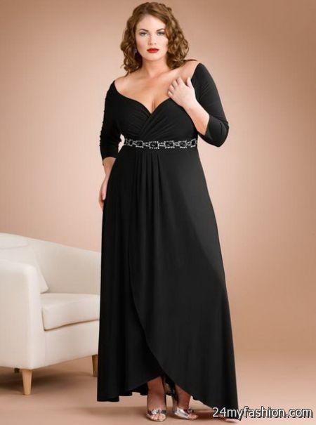 Plus size winter formal dresses 2018-2019