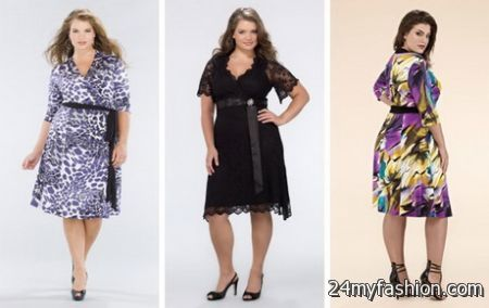 Plus size women dresses 2018-2019