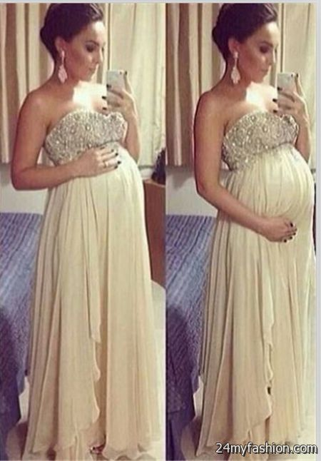 Pregnancy ball gowns 2018-2019   B2B Fashion