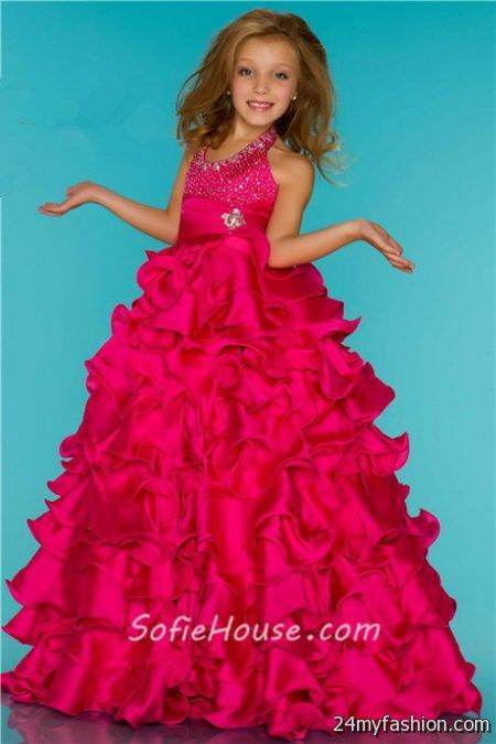 Prom dresses girls 2018-2019