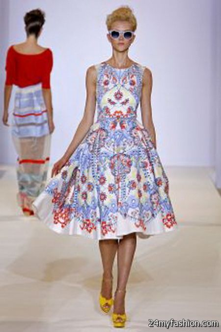 Red herring dress 2018-2019