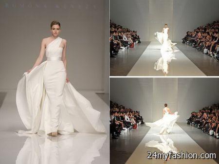 Runway wedding dresses 2018-2019