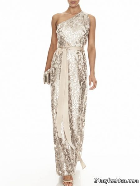 Sequined evening gowns 2018-2019