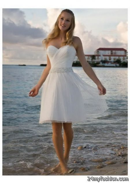Short Beach Wedding Dresses 2018 Image Wedding Dress Imagemax Co
