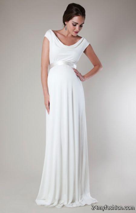 Short maternity wedding dresses 2018-2019   B2B Fashion