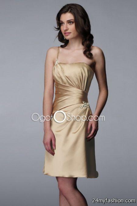 Simple cocktail dresses 2018-2019