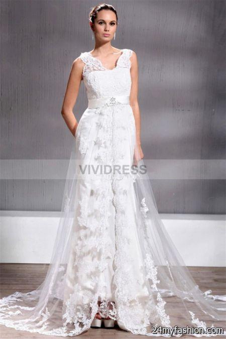 Simple vintage wedding dresses 2018-2019   B2B Fashion