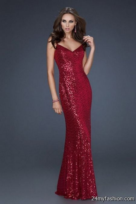 Sparkly Red Dress