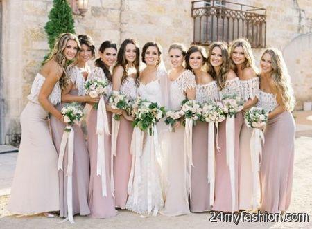 0221086626dd Spring wedding bridesmaid dresses 2018-2019
