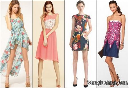 spring dresses 2018 for a wedding guest