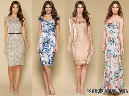 Summer dresses wedding guests 2018-2019