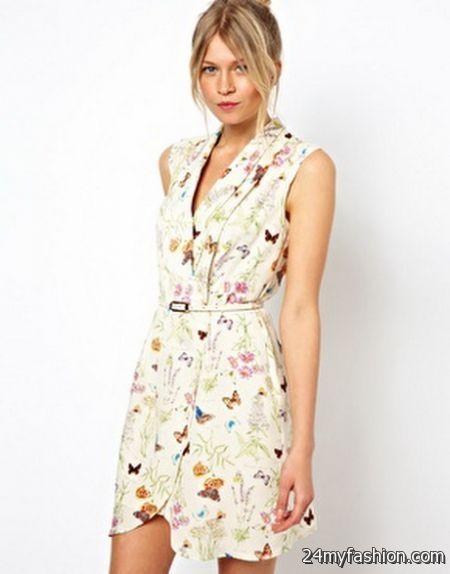 Summer wrap dresses 2018-2019