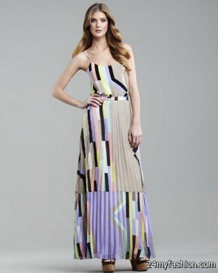Tibi maxi dresses 2018-2019