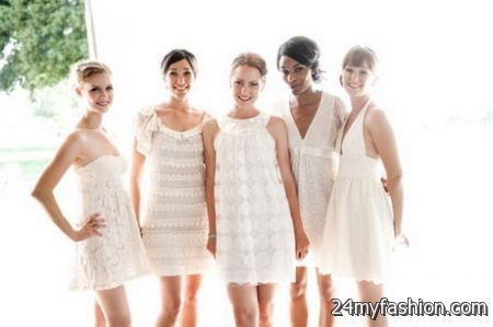 Trendy Bridesmaid Dresses 2018 2019