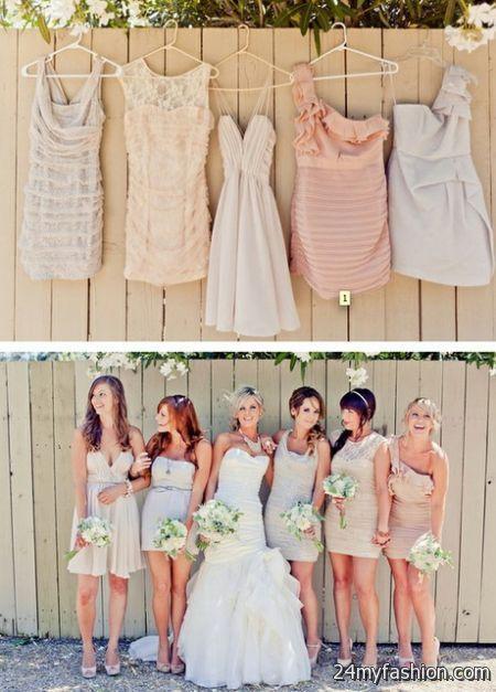 Unique bridesmaid dress 2018-2019