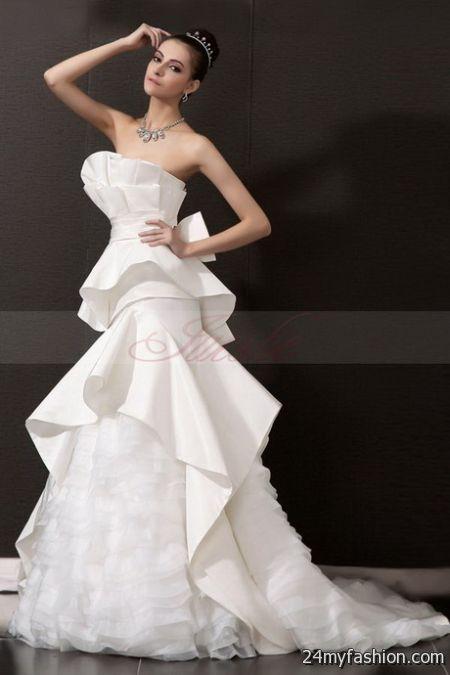 Unusual bridal gowns 2018-2019   B2B Fashion