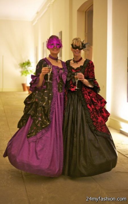 Venetian masquerade ball gowns 2018-2019   B2B Fashion