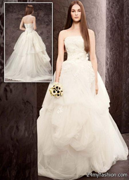 Vera wang ball gowns 2018-2019