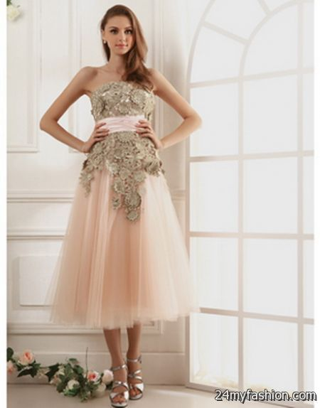 vintage inspired formal dress