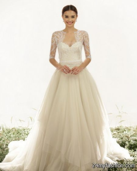 Wedding dress designs 2018-2019