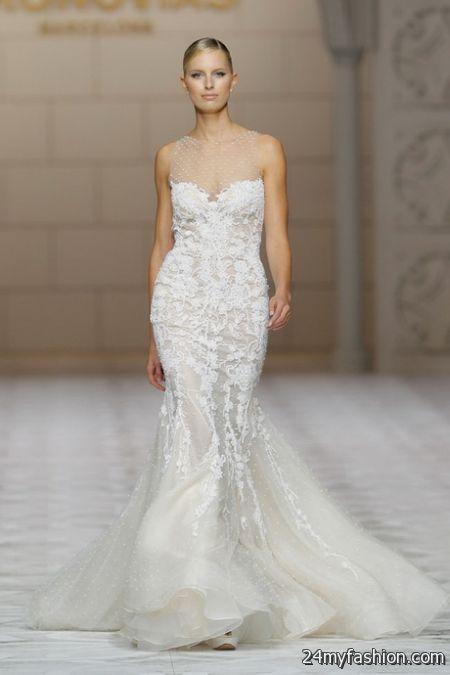 Wedding dress designs 2018-2019