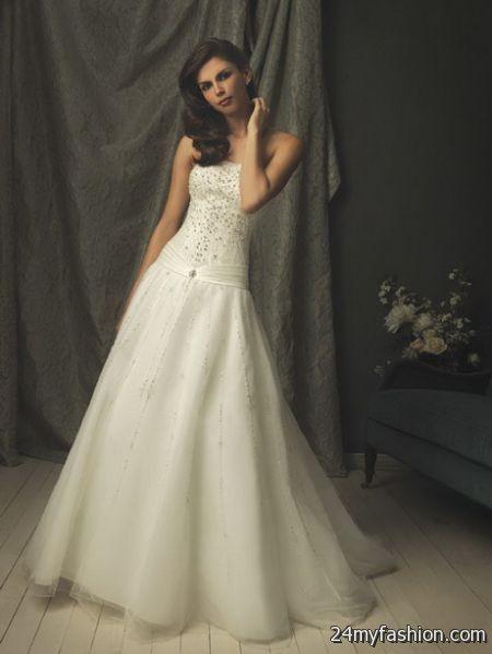 Wedding dress vintage 2018-2019