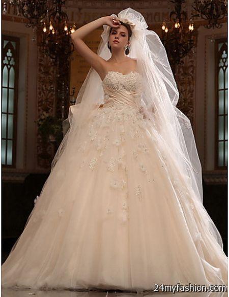 Wedding dresses and veils 2018-2019