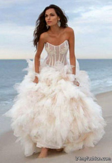 Wedding Dresses For Beach Weddings 2018 2019 B2b Fashion