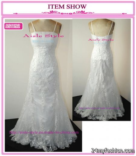 Wedding Dresses Made In China 2018 2019
