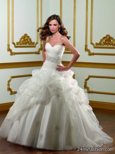 Wedding dresses princess 2018-2019