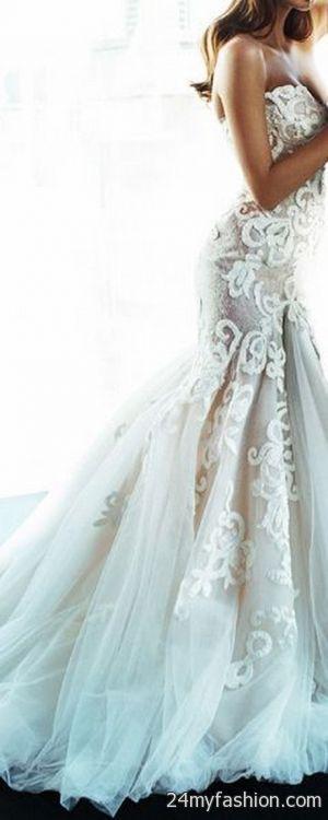Wedding dresses unique 2018-2019