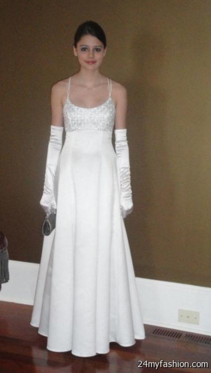 White cotillion dresses 2018-2019   B2B Fashion
