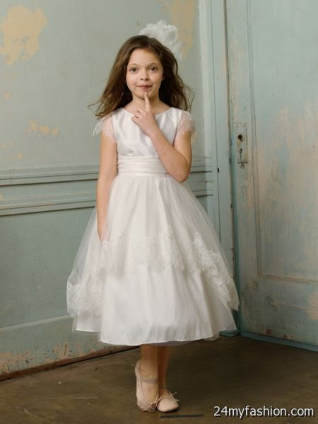 White girl dresses 2018-2019