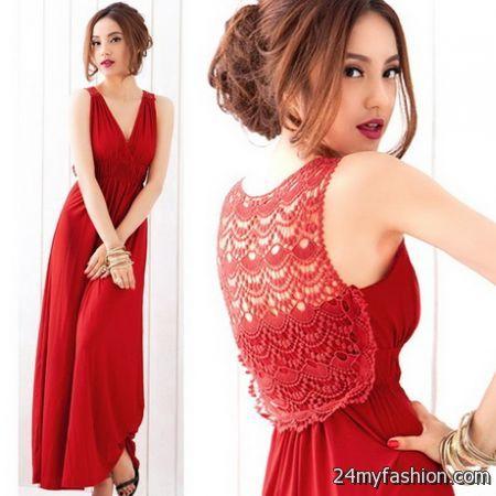 Women maxi dress 2018-2019